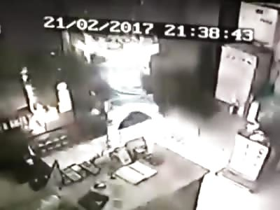Stove Gaffe Turns Man Into Human Torch