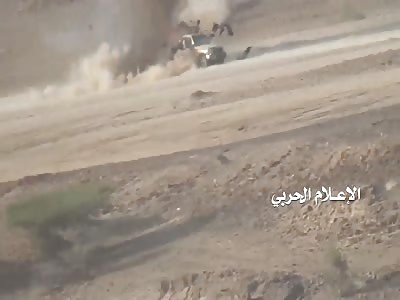 Yemeni Ansarullah Blow Up Saudi Forces with slow motion