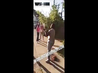 SMH: Dude Smacks A Woman Twice And Says