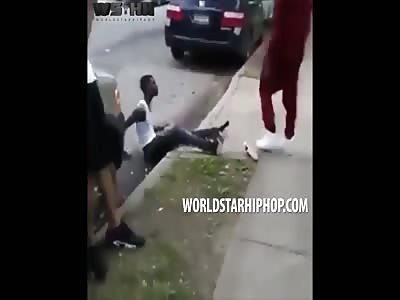 Damn: Dude Starts Seeing Stars After A Brutal Slap!