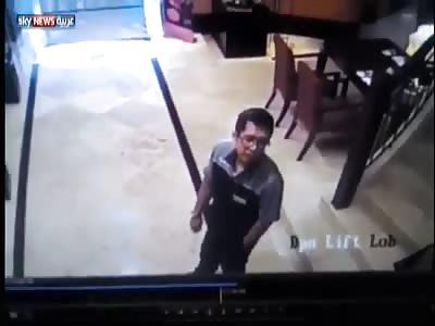 Samsung phone explodes in a man's shirt pocket