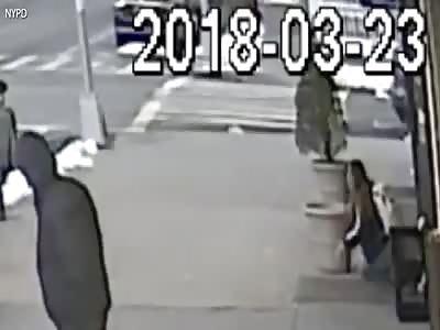 Man randomly attacks woman on the streets of Brooklyn