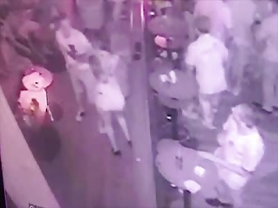 Tourist stabbed after groping woman's butt on dance floor