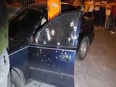 man shot to death inside his car