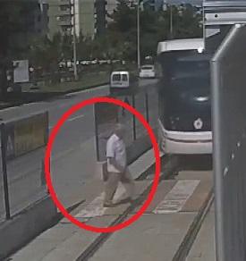 Elderly Man Is Run Over by Tram