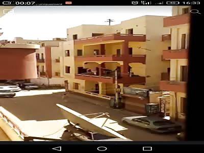 Egyptian house fall