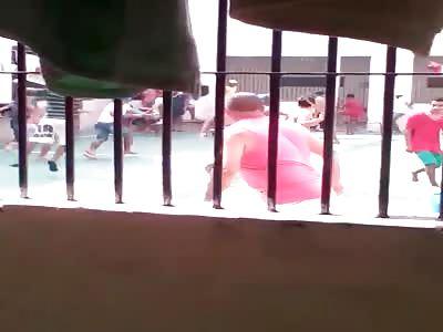 Brazilian prison soccer