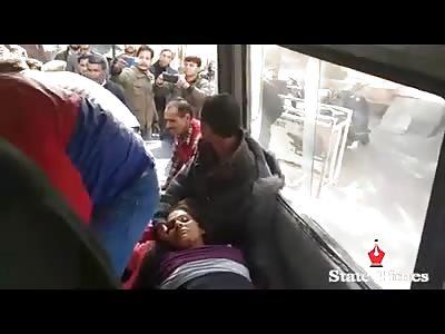 Accident at Dayala Chak: injured shifted to GMC&H, Jammu