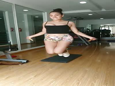 Jumping boobies