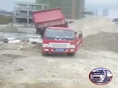 Truck slam down