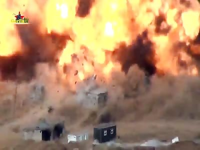 Kurdish separatists explode Turkish military base