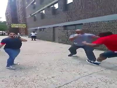NY Police Officer BRUTALIZES Black Man
