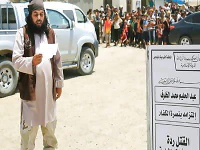 ISIS Decapitating Man Accused Of 'Apostasy' In Syria
