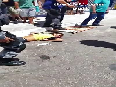thief gets shot