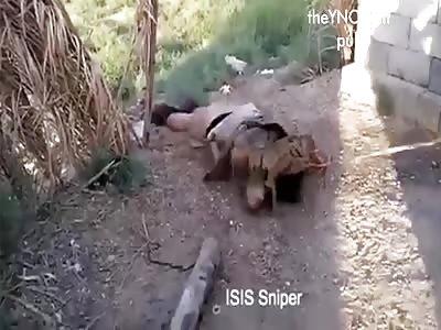 Outskirts of Faluya Daesh sniper