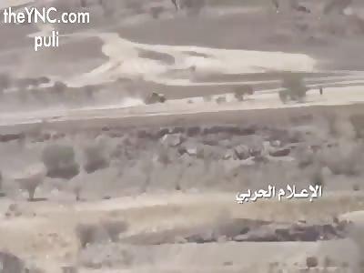 Yemeni Ansarullah Targeting Saudi Car