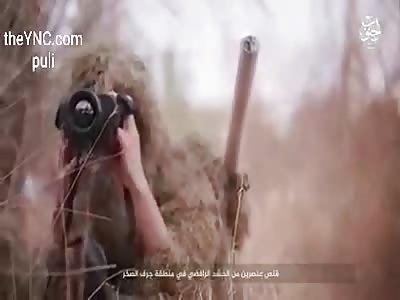 sniper eliminates 2 civilians