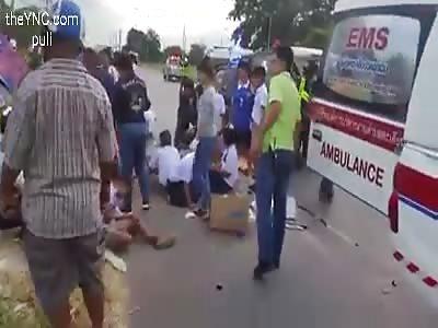 bus, excursions More than 40 dead