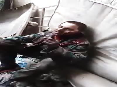 Prisoners of pigs under the feet of Mujahideen Harasta