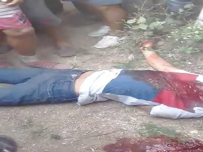 ASECINATO. man found with head shots