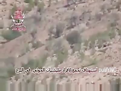 Yemen | i ejército volando Houthi luchadores con ATGM en Western