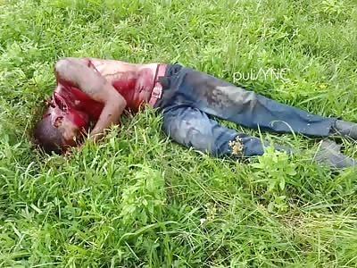 man killed with machete
