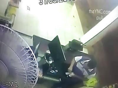 Live Murder Caught on CCTV