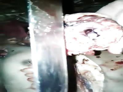 Brazilian prisoners show body ... Dismembered
