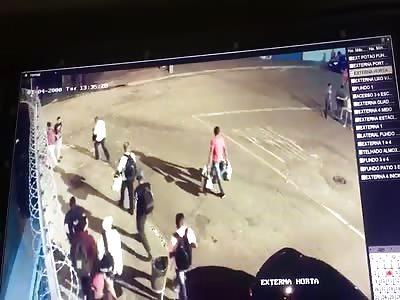 Double Murder Caught on CCTV