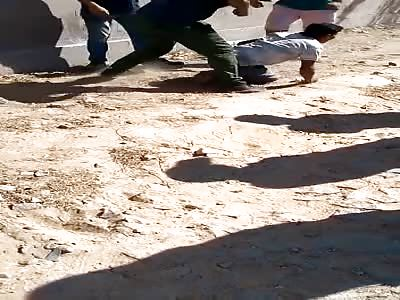 (short video) thief PUNISHED