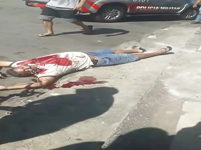 policemen shot in Vila Pery neighborhood in Fortaleza-CE Brazil