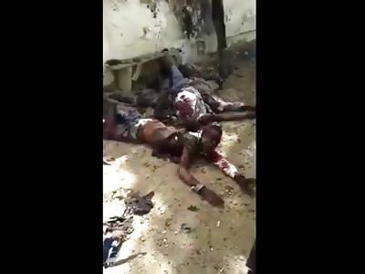 Terrorist attack in N'Djamena *Graphic Aftermath*