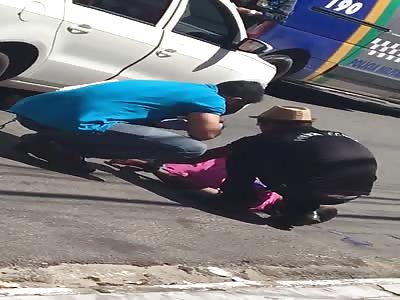 man killed with several shots