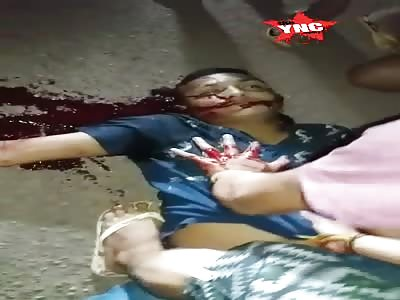 Man killed with shot Marituba - PA Brazil