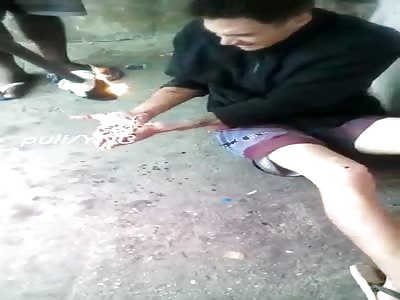 Torture by Molten Plastic