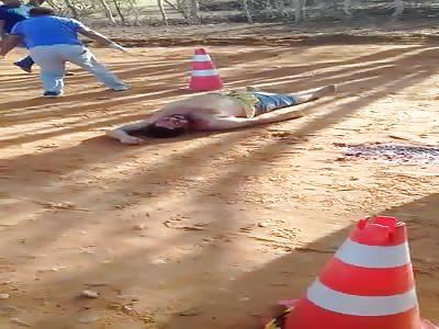 Petrolina / PE Brazil body without life