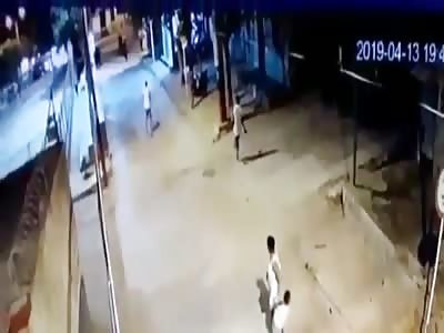 CCTV: Cop Kills Man During Shootout
