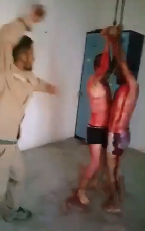 Man Dressed Up As A Kurd Tortures Boys