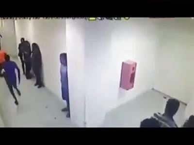 malaysian gang attacks man with a machete