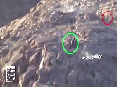 One Houthi Rebel Overruns Saudi Machine Gun Nest