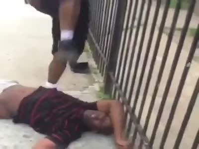 Black Man Beaten Until Permanent Brain Damage