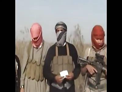 Old School Daesh Burn 3 Men Alive