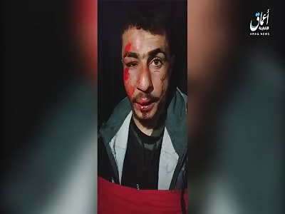 NEW Captured PKK Gets His Neck Cut