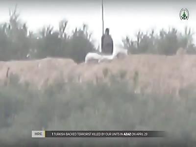 New Turkish Soldier Sniped By Good Marksmen