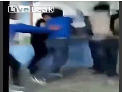 Bitch slapped by teacher