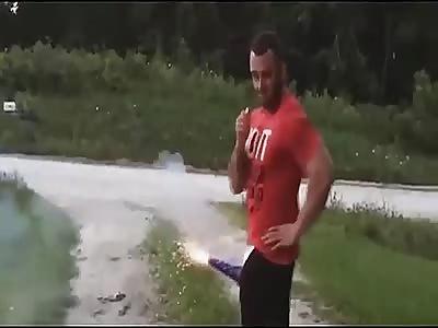 Stupid  accident