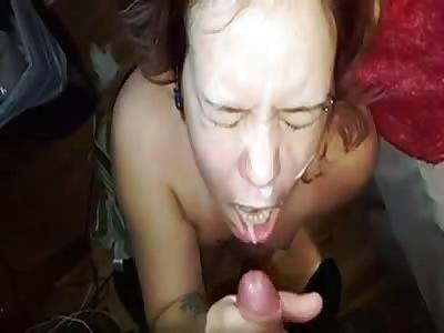Girls loves sperm