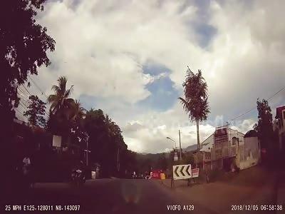 Motorcycle crash Philippines