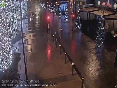 Drunk driving collision