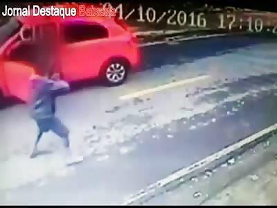 Robber in rio de janeiro